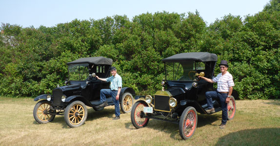 Rare Ford Model T antique car collection selling in Saskatchewan, Aug 19.