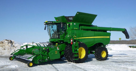 2018 John Deere combine for sale