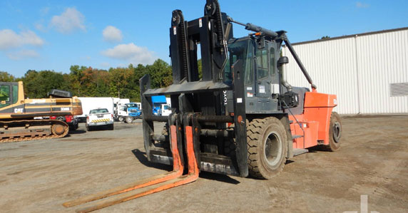 The Forks Will Rise – record forklift sales at Ritchie Bros