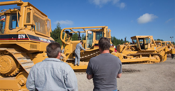 How to sell heavy equipment.