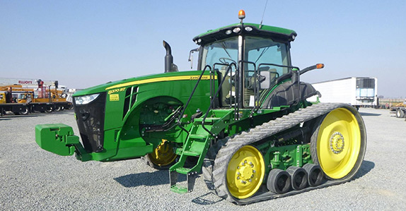 Farming equipment sold by Ritchie Bros. at live online auctions