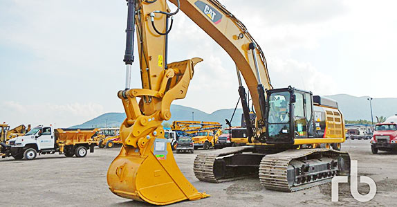 This Caterpillar 349E hydraulic excavator sold for CA$415,000