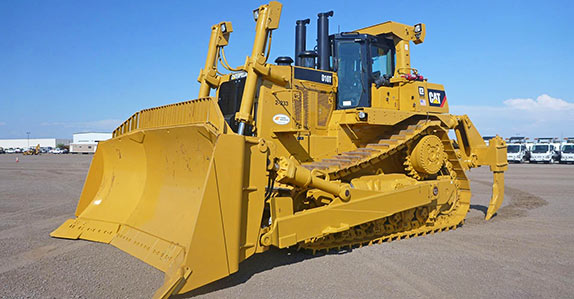 This Caterpillar D10T crawler tractor sold for US$1,070,000