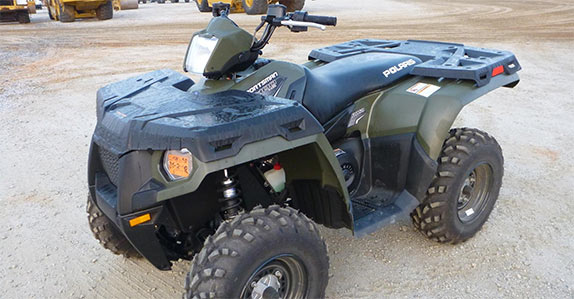 This Polaris Sportsman ATV sold for US$4,000