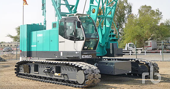 This Kobelco crawler crane sold for US$575,000