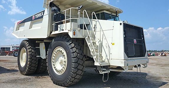 This Terex TR100 rock truck sold for US$610,000