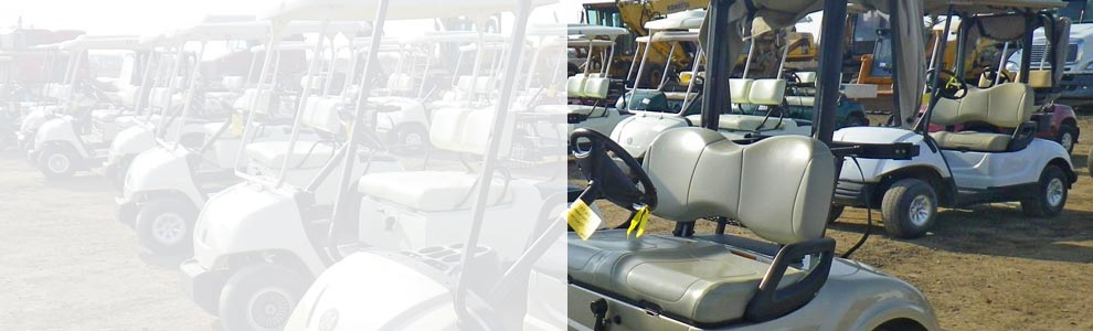 Used Golf Carts | Electric or Gas | Ritchie Bros  Auctioneers